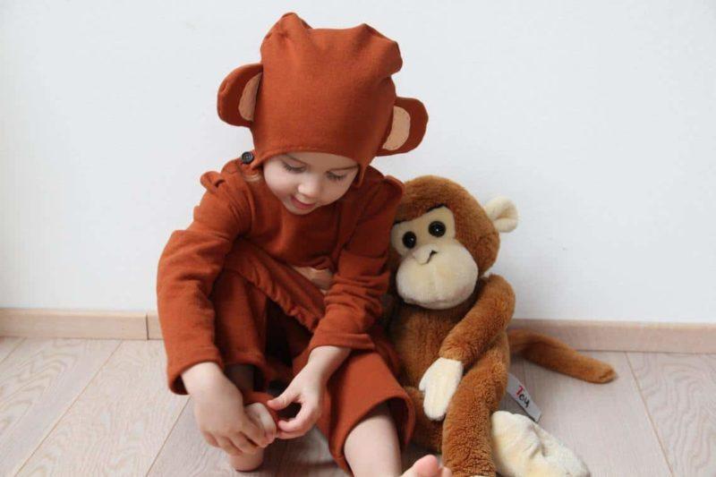 Opičkový kostým na karneval