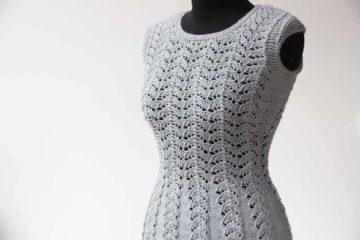 Návod zdarma na dámský pletený top