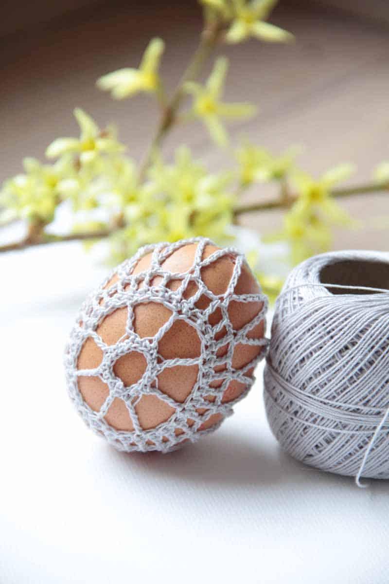 Návody na háčkované velikonoční dekorace zdarma