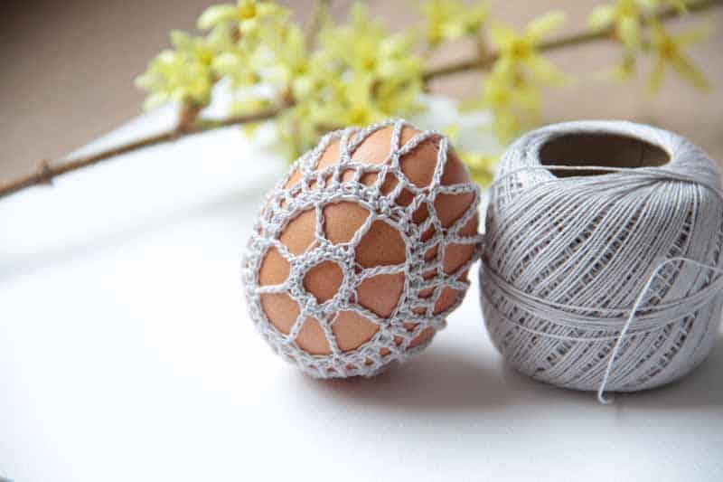 Návod na obháčkované velikonoční vajíčko