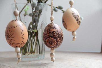 Fixem malovaná velikonoční vajíčka