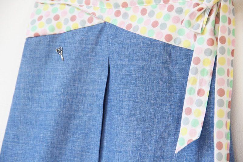 Áčková sukně s výrazným pasem