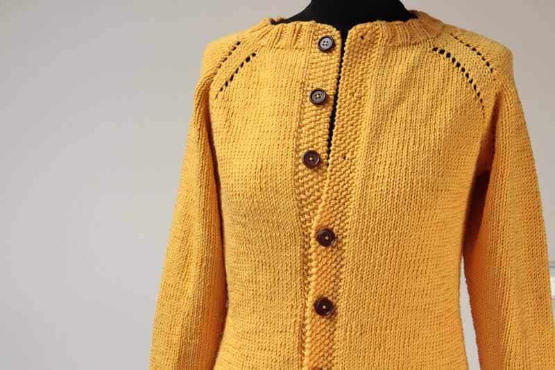 Dámský ručně pletený kabátek na přání