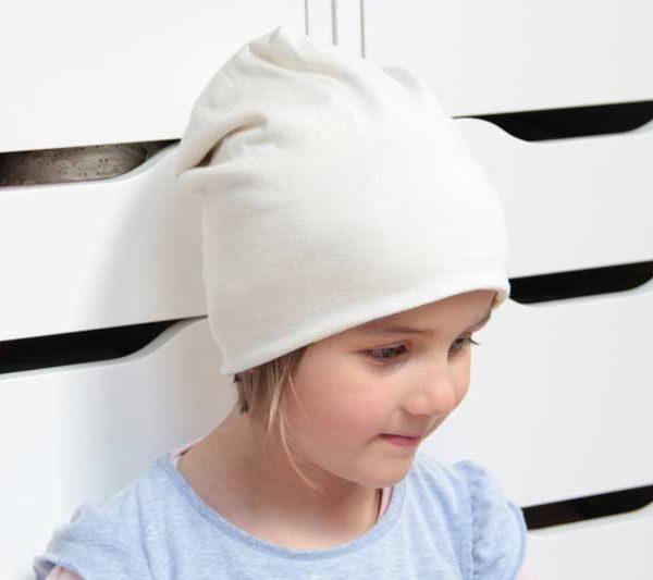 Návod a střih jak ušít dětskou nebo dámskou čepici homelesku