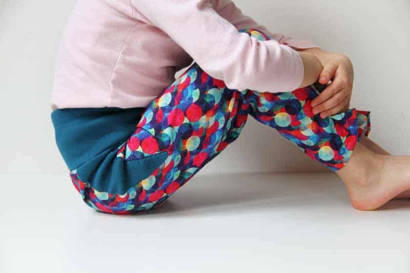 Šití: Dětské funkční kalhoty