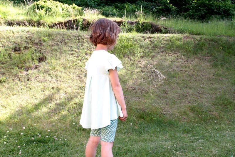 Střih a návod na dětskou halenku / tuniku