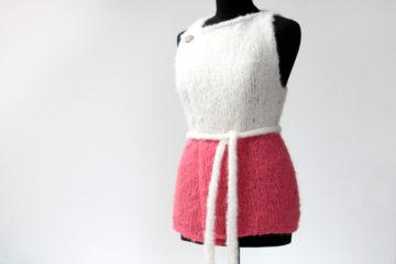 Návod na dámské letní pletené kimono (vestu)