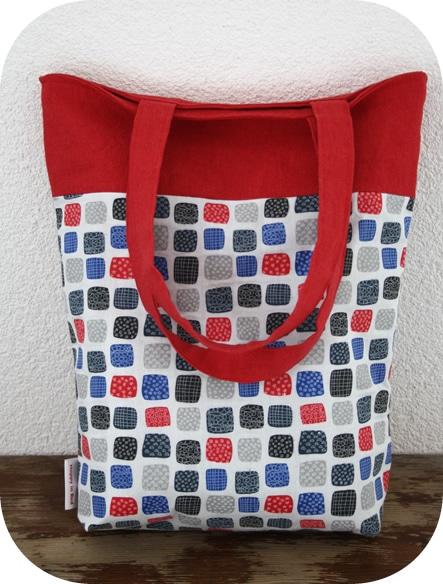 Návod na jednoduchou a stylovou kabelku / tašku