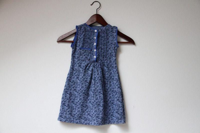 Recyklace oblečení: Šaty z halenky