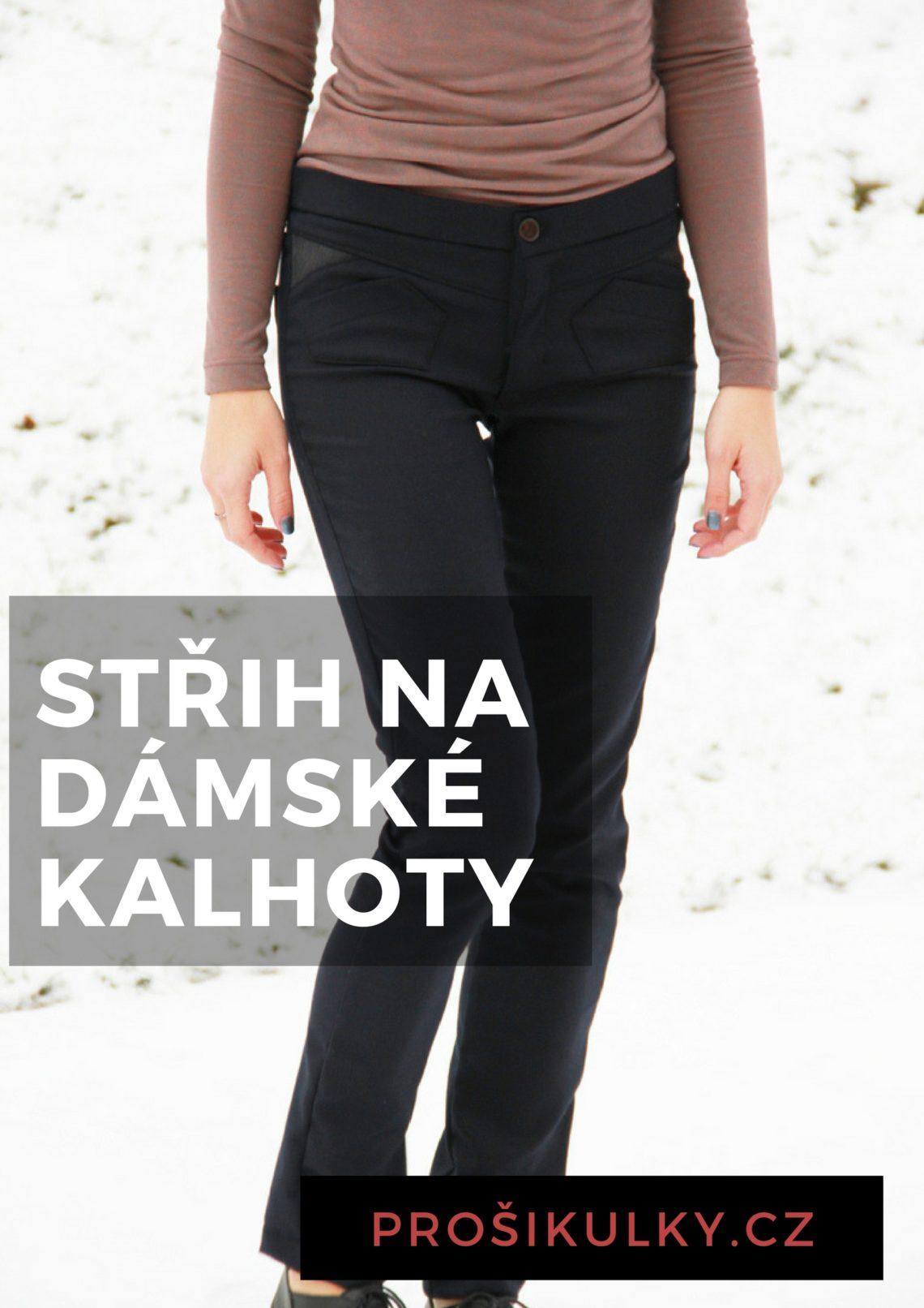 Střih na dámské kalhoty (úzké bdca81cca7