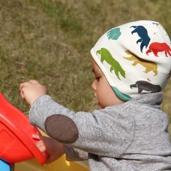 Dětská čepice přes uši