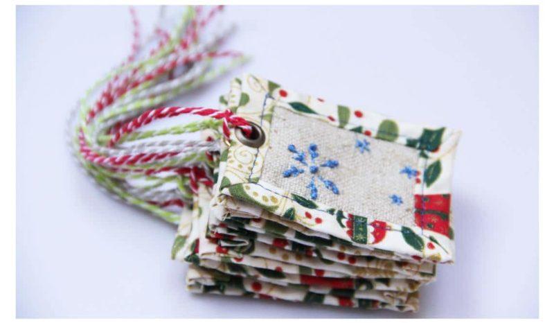 Visačky na vánoční dárky
