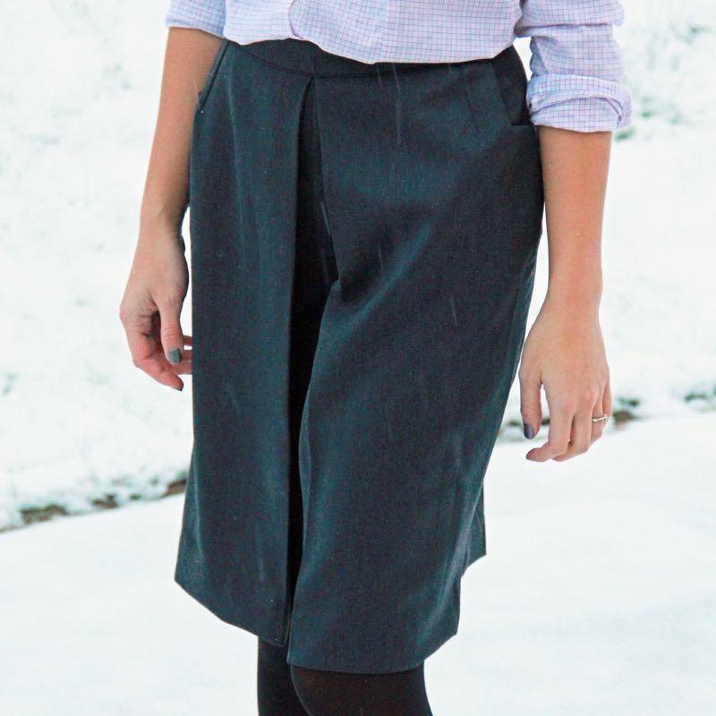 Střih na kalhotovou sukni (+ návod) - velikosti 32 - 52 472cdd9895