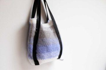 Návod na pletenoou tašku