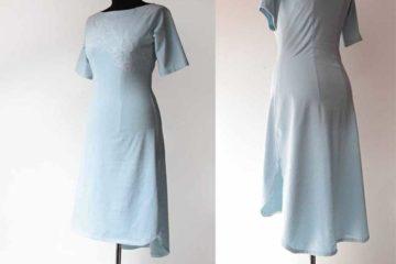 Ručně vyšívané dámské šaty