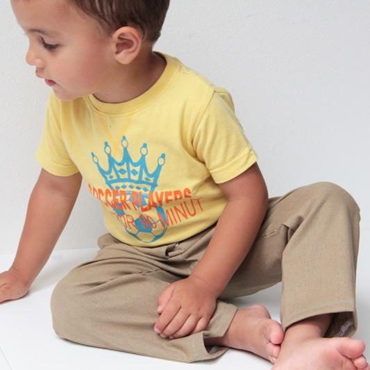 Střih na dětské kalhoty 122 - 140