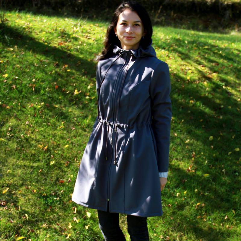 Střih na dámský kabát 34 - 52
