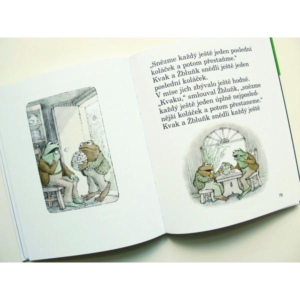 Kvak a Žblunk jsou kamarádi, Arnold Lobel, zdroj obrázku: Didaktické hračky
