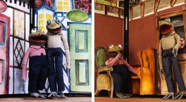 Kvak a Žbluňk jsou kamarádi, zdroj: Divadlo v Dlouhé