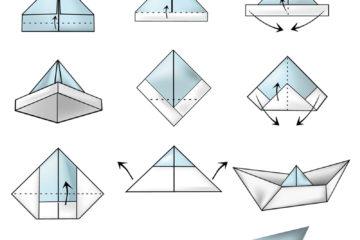 Jak složit loďku z papíru