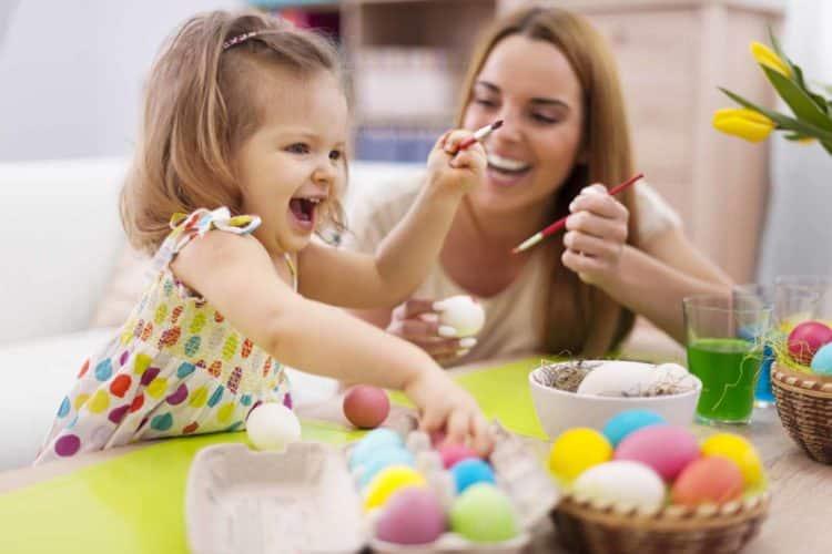Netradiční velikonoční výzdoba, zdobení velikonočních kraslic