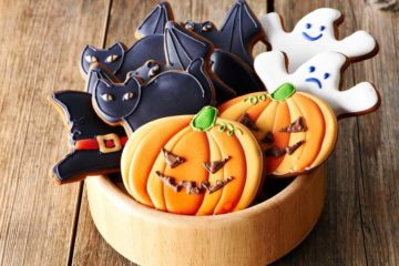 Halloween, tip na sladkosti nebo dekoraci
